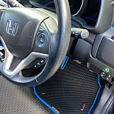 Honda Fit III правый руль (Гибрид) (GP, GK) 2013- (вод.)