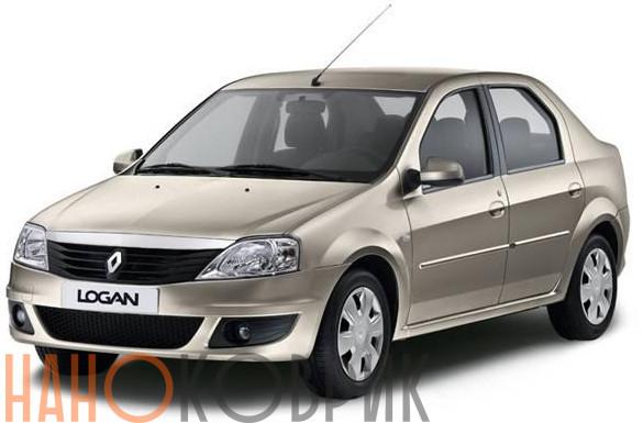 Автомобильные коврики ЭВА (EVA) для Renault Logan I 2004-2009