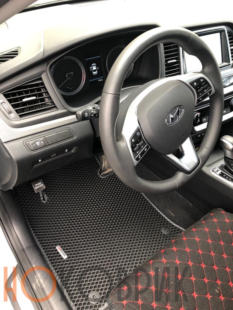 Автомобильные коврики для Hyundai Sonata VII (LF) 2017-