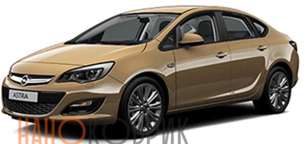 Автомобильные коврики ЭВА (EVA) для Opel Astra IV (J) седан (P10) 2012-2015