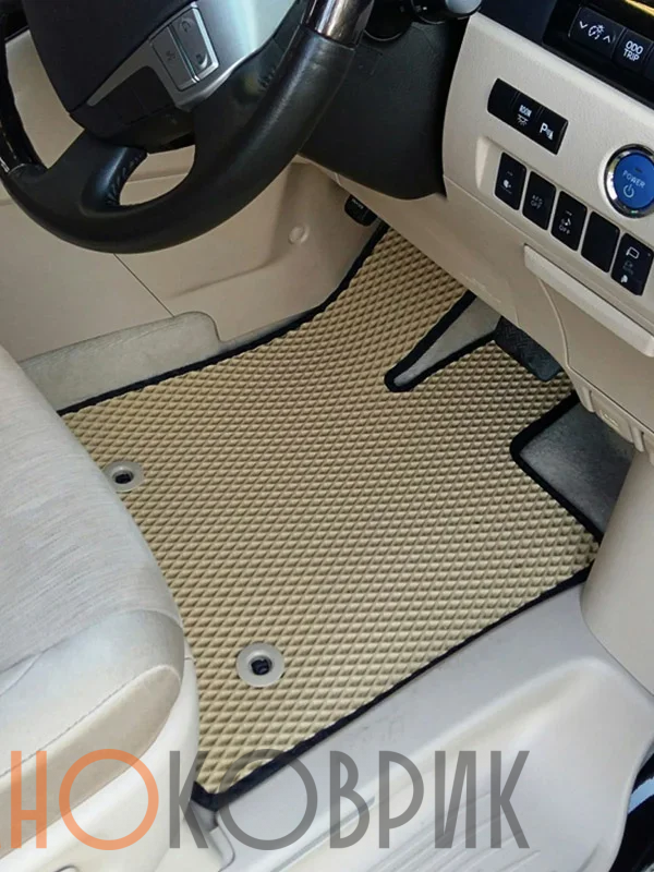 Автомобильные коврики для Toyota Alphard II правый руль рестайл (H20 гибрид) 2011-2015