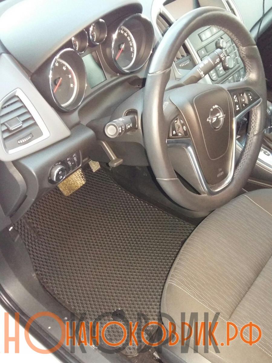 Автомобильные коврики ЭВА (EVA) для Opel Astra IV (J) хетчбек 5дв (P10) 2009-2015