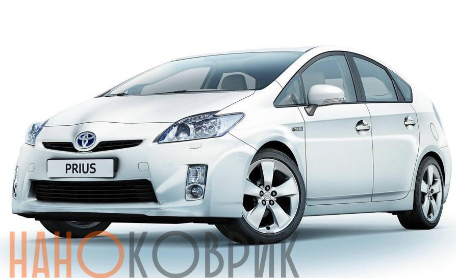 Автомобильные коврики ЭВА (EVA) для Toyota Prius III правый руль (XW30) 2009-2011