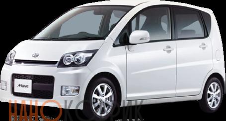 Автомобильные коврики для Daihatsu Move I правый руль (2WD) 2010-2014