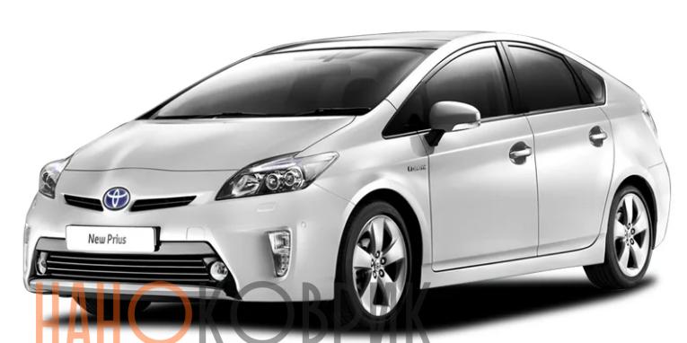 Автомобильные коврики ЭВА (EVA) для Toyota Prius III правый руль рестайлинг (XW30) 2012-2016