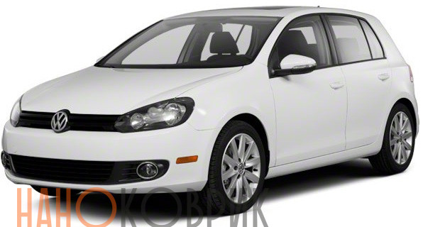Автомобильные коврики для Volkswagen Golf VI хэтчбек 5 дв 2009-2012