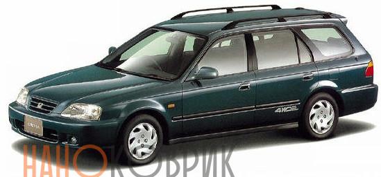 Автомобильные коврики ЭВА (EVA) для Honda Orthia I правый руль 2WD (EL) 1996-2002
