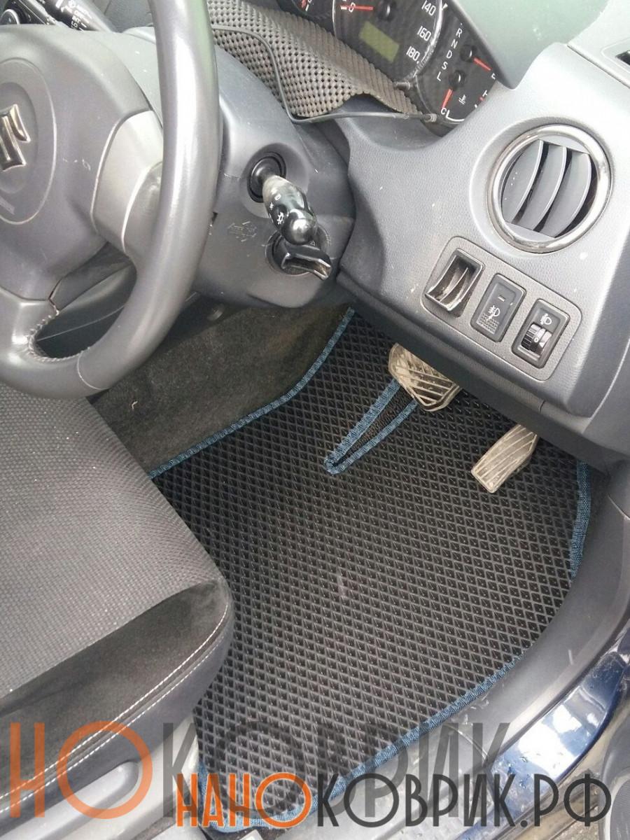 Автомобильные коврики для Suzuki Swift III правый руль 5 дв 2004-2010