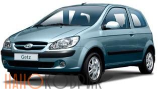 Автомобильные коврики для Hyundai Getz I (TB) 2002-2011