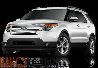 Автомобильные коврики для Ford Explorer V (U502 5 мест) 2011-2016