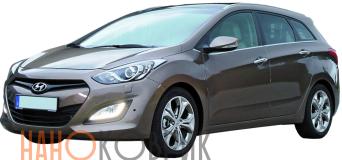 Автомобильные коврики для Hyundai i30 II универсал (GD) 2012-