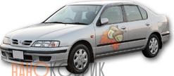 Автомобильные коврики для Nissan Primera II правый руль седан (P11) 1995-2000