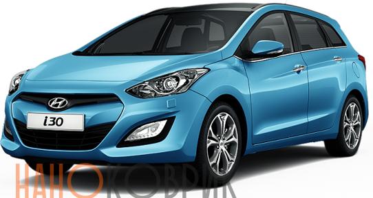 Автомобильные коврики для Hyundai i30 II хэтчбек 5 дв. (GD) 2012-
