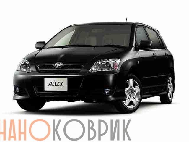 Автомобильные коврики ЭВА (EVA) для Toyota Allex I правый руль (E120 2WD) 2001-2006