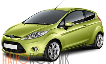 Автомобильные коврики для Ford Fiesta VI хэтчбек 3 дв. (Mk 6 CB1) 2008-