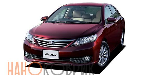 Автомобильные коврики для Toyota Allion II правый руль (T260) 2007-2016