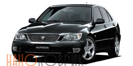 Автомобильные коврики для Toyota Altezza правый руль седан (XE10) 1998-2005