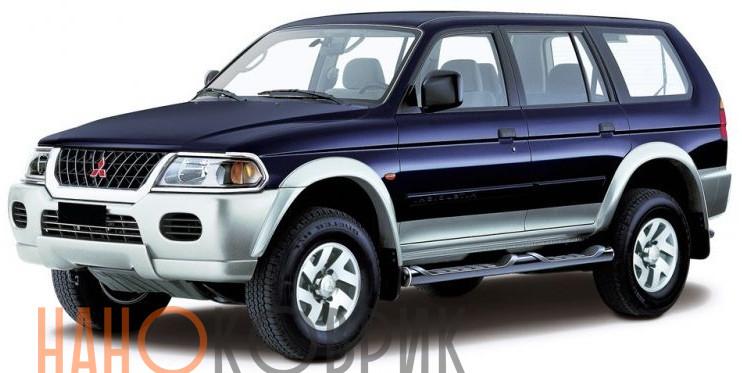 Автомобильные коврики для Mitsubishi Pajero Sport I 1998-2008