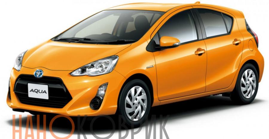 Автомобильные коврики для Toyota Aqua I правый руль (P10) 2011-