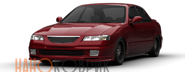 Автомобильные коврики для Mazda Capella VII правый руль седан (GF) 1997-2002