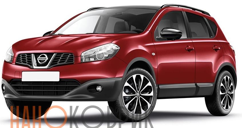Автомобильные коврики для Nissan Qashqai I правый руль (J10) 2006-2013