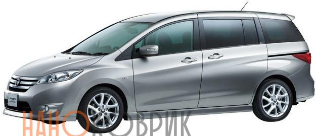 Автомобильные коврики для Nissan Lafesta II правый руль (B35 5 мест ) 2011-