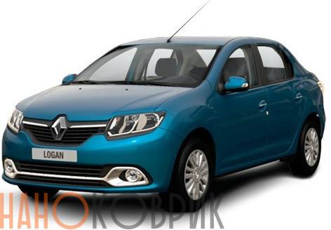 Автомобильные коврики ЭВА (EVA) для Renault Logan II 2014-