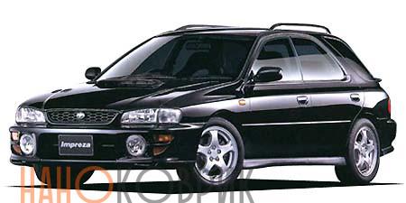 Автомобильные коврики для Subaru Impreza I  хэтчбек (GF) 1996-2000