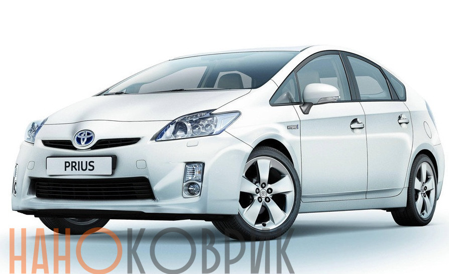 Автомобильные коврики ЭВА (EVA) для Toyota Prius III (XW30) 2009-2011