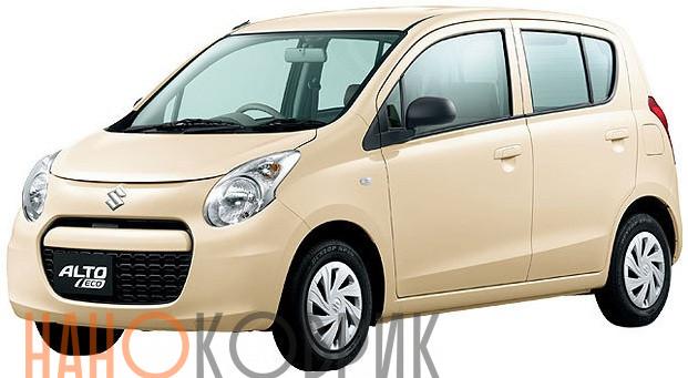 Автомобильные коврики для Suzuki Alto VII правый руль (5 дверей 2WD) 2009-2014