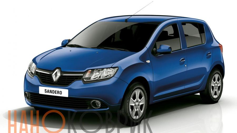 Автомобильные коврики для Renault Sandero II 2014-