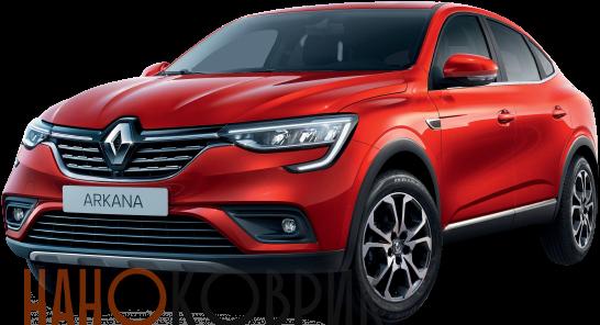 Автомобильные коврики ЭВА (EVA) для Renault Arkana 2018-
