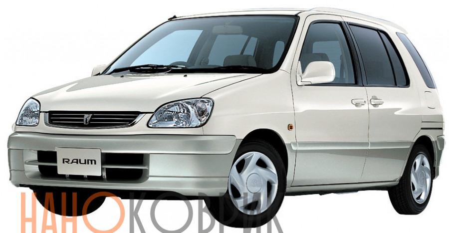 Автомобильные коврики для Toyota Raum I правый руль (Z10) 1997-2003