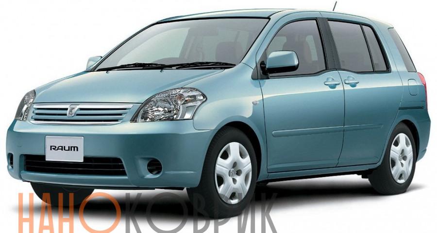 Автомобильные коврики для Toyota Raum II правый руль (Z20) 2003-2011
