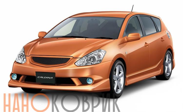 Автомобильные коврики для Toyota Caldina III правый руль (T240 4WD) 2002-2007