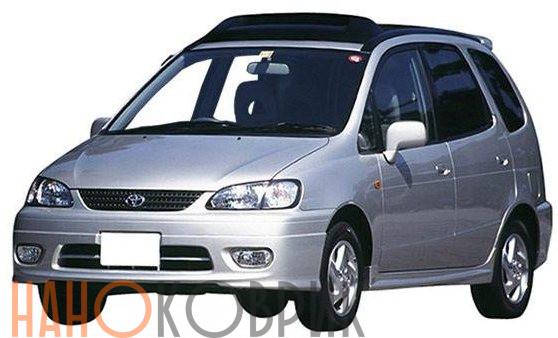Автомобильные коврики ЭВА (EVA) для Toyota Corolla Spacio I правый руль (E110) (4 места 4WD) 1997-2001