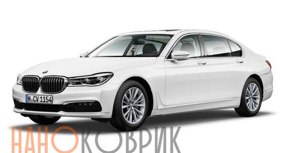 Автомобильные коврики для BMW 7 VI (G11,G12) 2015-