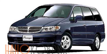 Автомобильные коврики для Nissan Presage I правый руль (U30 7 мест) 1998-2003