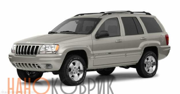Автомобильные коврики ЭВА (EVA) для Jeep Grand Cherokee II (WJ) 1998-2004