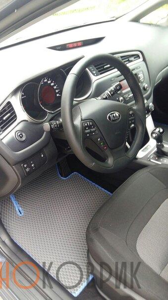 Автомобильные коврики ЭВА (EVA) для Kia cee'd II универсал (JD) 2012-2018