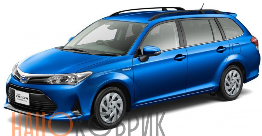 Автомобильные коврики для Toyota Corolla Fielder III правый руль (E160 4WD) 2012-