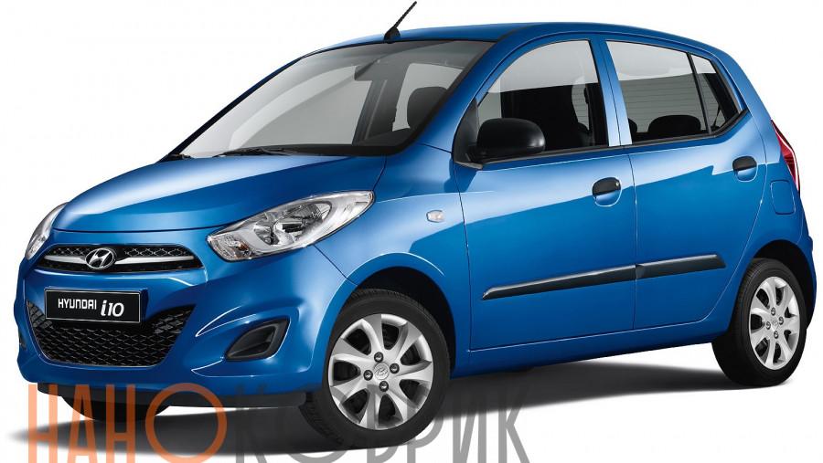 Автомобильные коврики для Hyundai i10 I 2007-2013