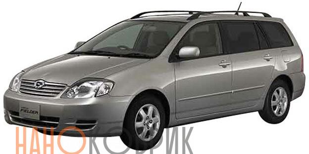 Автомобильные коврики для Toyota Corolla Fielder I правый руль (E120 4WD) 2000-2006