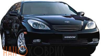 Автомобильные коврики ЭВА (EVA) для Toyota Windom III правый руль (V30) 2001-2006