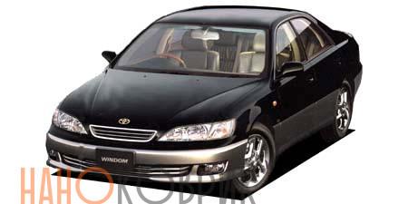 Автомобильные коврики ЭВА (EVA) для Toyota Windom II правый руль (V20) 1996-2001