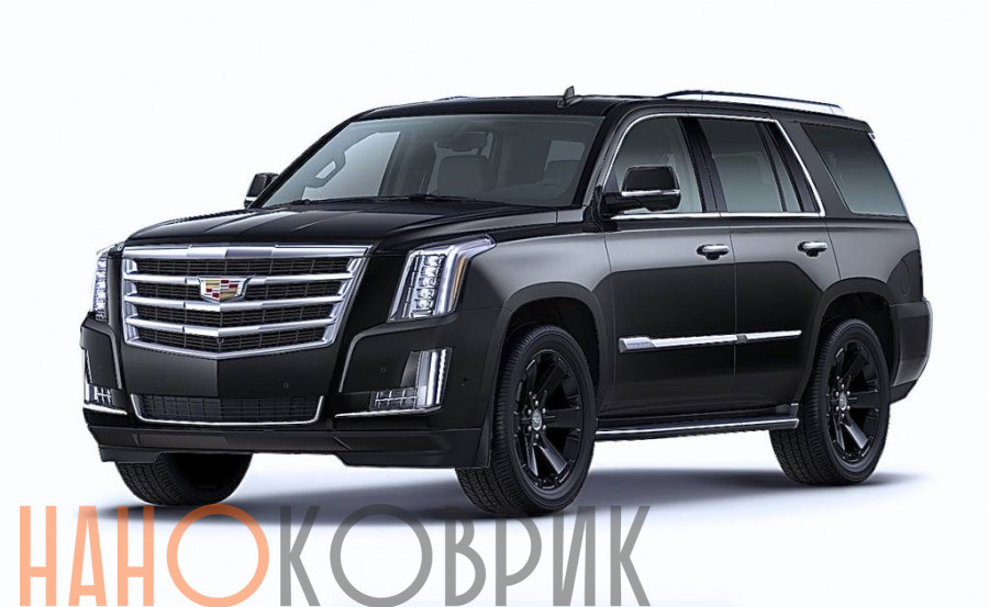 Автомобильные коврики ЭВА (EVA) для Cadillac Escalade IV (GMT K2 5 мест) 2015-