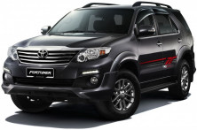 Toyota Fortuner II (AN160 7 мест) 2015-